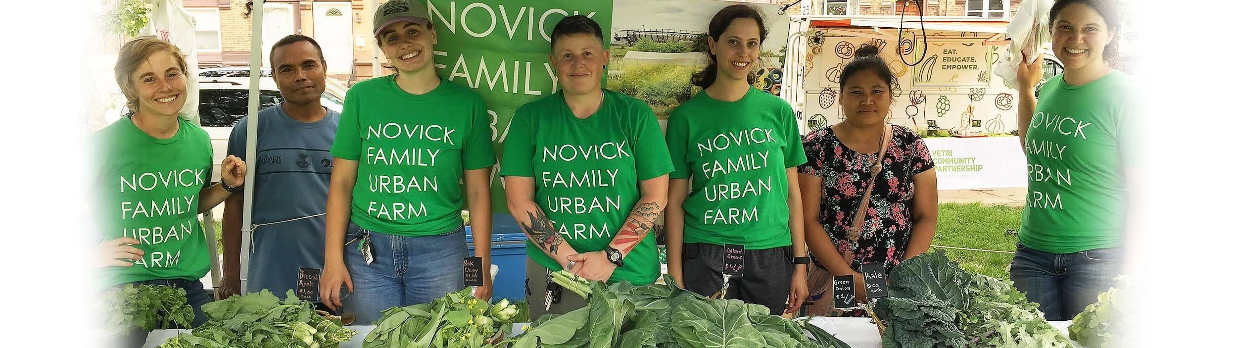 Farm in Philadelphia | Novick Urban Farm Team